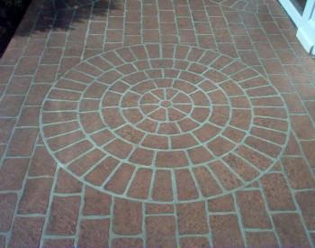 Cobble Circle Stencil