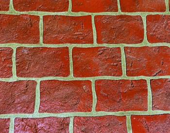 Rustic Brick Stencil