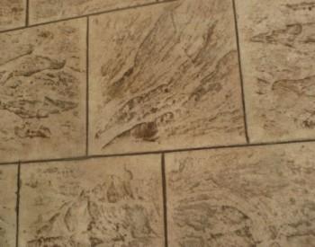 Slate Tile 2'x2' Stamp
