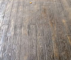 Wood Plank 6- Stamp, Dark Walnut CH, Splash of Mesa Buff CH, Charcoal Gray R