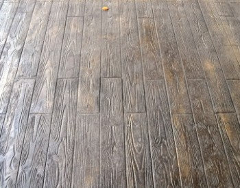 Wood Plank 6- Stamp, Dark Walnut CH, Splash of Mesa Buff CH, Charcoal Gray R