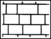 Jumbo Brick - Stencil Roll