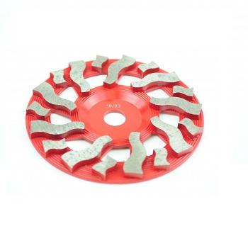 5 Tornado 50-60 Grit Cup Wheel 1