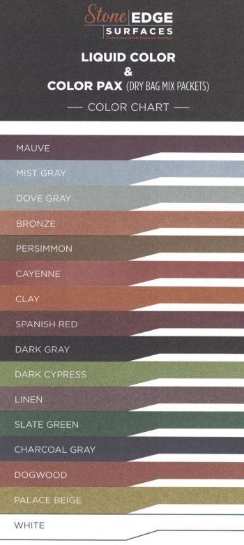 Stone Edge Surfaces Colors