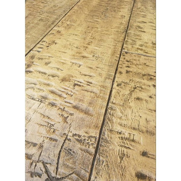 hand hewn timber plank sixteen inch rcs decorative - Decorative Concrete Supply